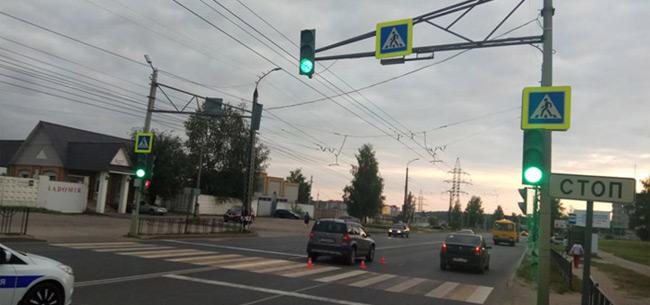 В Коврове в аварии пострадала школьница