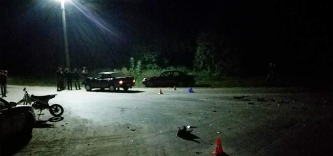 В Ковровском районе в ДТП пострадали несовершеннолетние водитель и пассажир мотоцикла