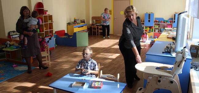 В Коврове в детском саду №34 открыта группа для детей с ограниченными возможностями здоровья