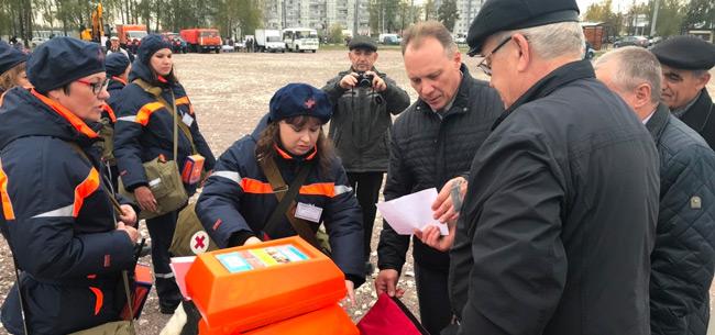 Всероссийская тренировка по ГО прошла в Коврове