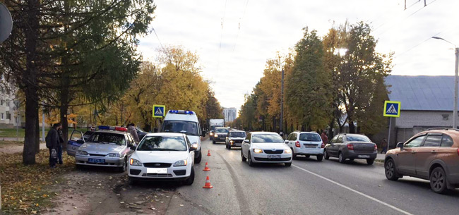 В Коврове под колеса авто попал 9-летний ребенок
