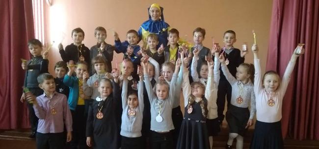 В Коврове в школе №4 прошел праздник для первоклашек