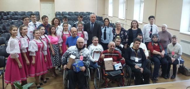 """В Коврове прошел конкурс &quotБезопасное колесо"""" среди людей с ограниченными возможностями здоровья"""
