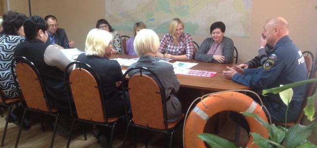Сотрудники МЧС провели в Ковровском районе профилактические занятия
