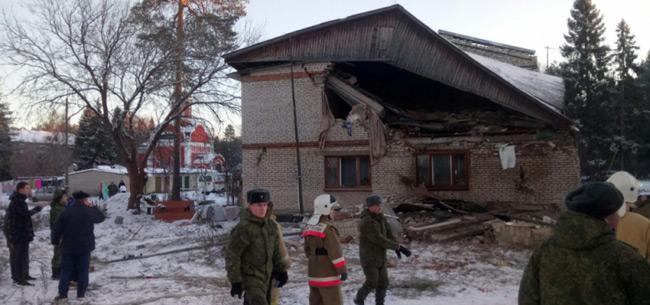 В Киржачском районе в многоквартирном доме произошел взрыв бытового газа
