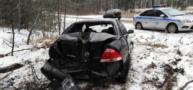 В Ковровском районе 28 ноября произошло 2 ДТП с пострадавшими