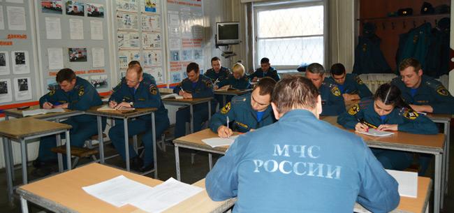Сотрудники МЧС приняли участие в мероприятиях школы повышения оперативного мастерства