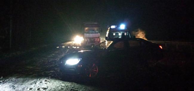 На трассе М-7 в Ковровском районе в ДТП пострадал водитель фуры