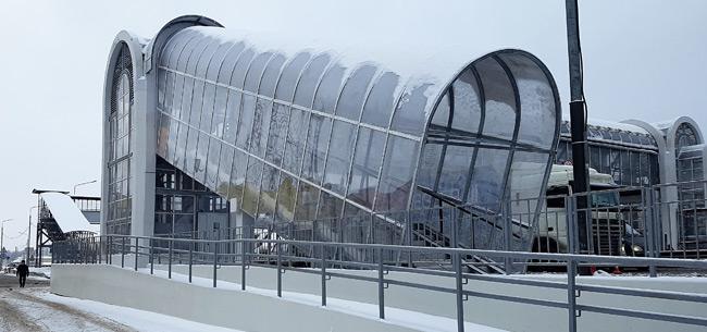 Во Владимирской области на трассе М-7 в 2018 году установили более 10 надземных переходов