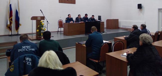 В администрации Ковровского района прошло совещание по вопросам снижения количества ложных срабатываний пожарных сигнализаций