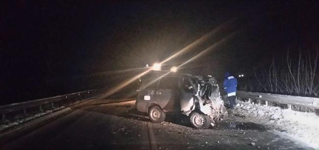 В Ковровском районе в ДТП погиб водитель