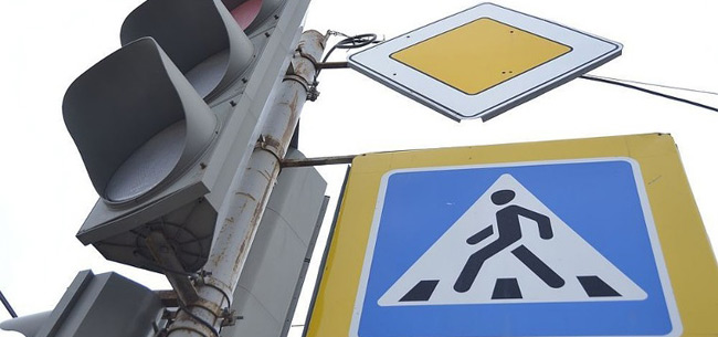 В Коврове на перекрестке проспекта Ленина и ул. Шмидта не работает светофор
