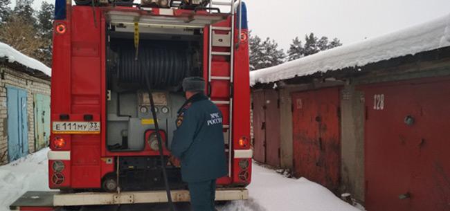 В минувшие выходные в Коврове и районе произошло 3 пожара
