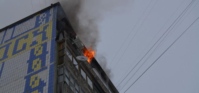 В Коврове на пожаре спасли женщину