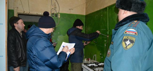 Сотрудники оперативных служб провели профилактический рейд в общежитии