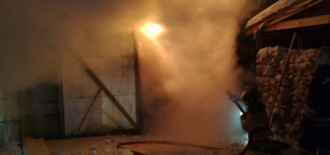 17 и 18 января сотрудники МЧС ликвидировали два пожара в Коврове и районе