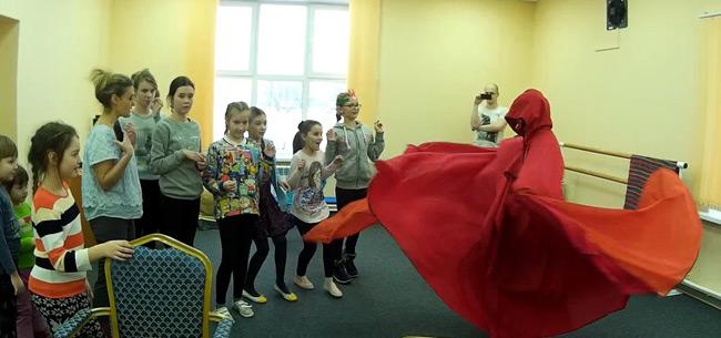 Сотрудники МЧС провели интерактивную игру для ребят с. Павловское Ковровского района