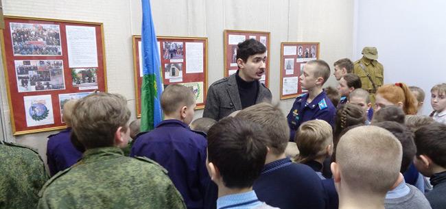 В Ковровском историко-мемориальном музее работает выставка &quotМы сыновья твои, Россия!&quot