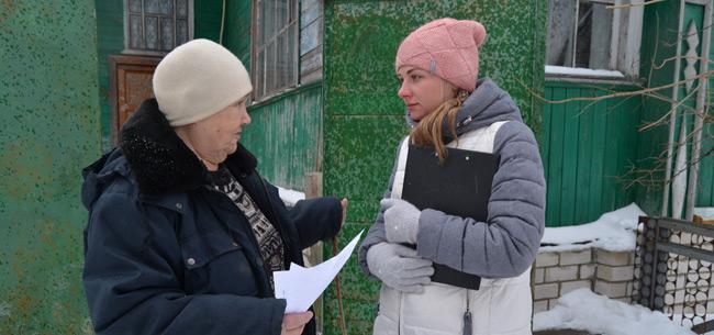В преддверии паводка в Коврове специалисты проводят профилактические мероприятия с жителями