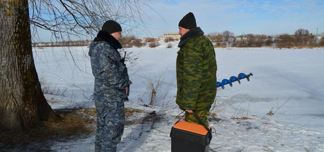 С 1 марта в Коврове выход на лед водоемов города запрещен