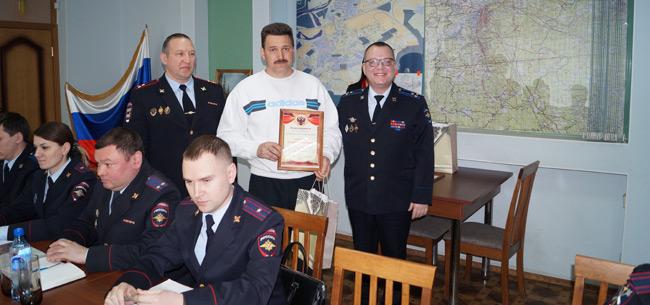 В Ковровском отделе полиции наградили граждан, оказавших содействие в раскрытии преступлений