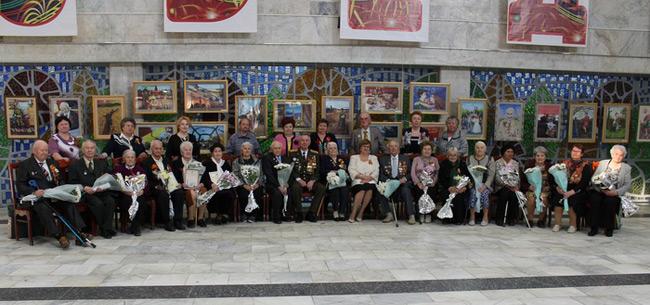 В Коврове прошли торжественное собрание и концерт, посвященные Дню Победы