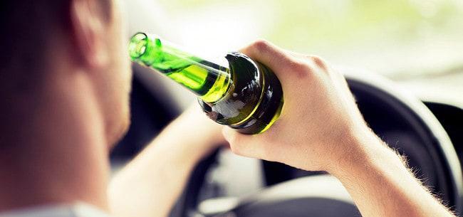 Второй раз попался пьяным за рулем