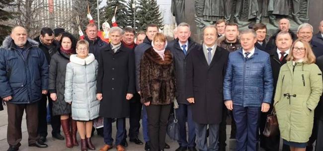 Новый председатель Союза городов воинской славы