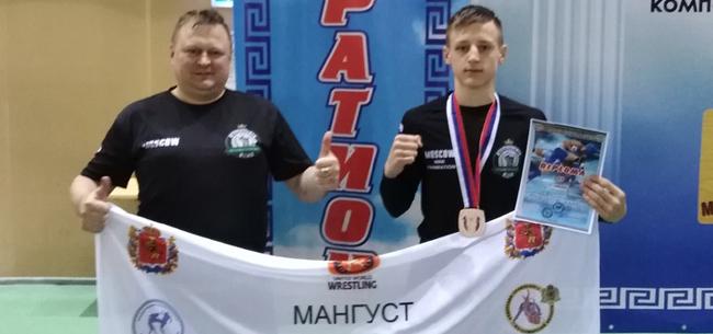 «Серебро» на Кубке мира по панкратиону