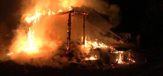Пожар в Камешковском районе: двое погибших