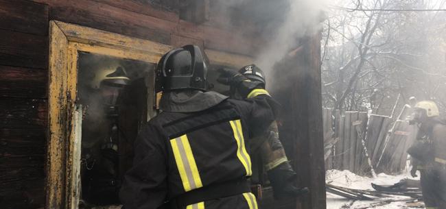На пожаре в Коврове погибла пенсионерка