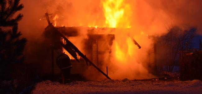 Пожары в выходные