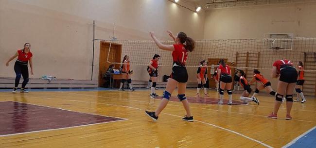 «Серебро» на Первенстве региона по волейболу