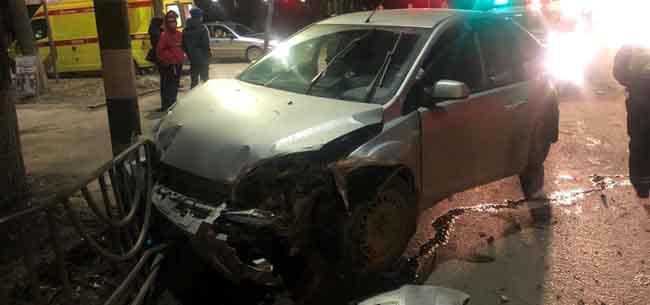 В Коврове на тротуаре ребенка сбила машина