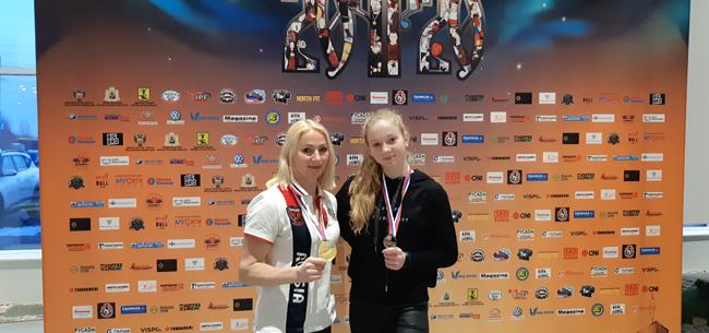 «Золото» на Чемпионате России по пауэрлифтингу