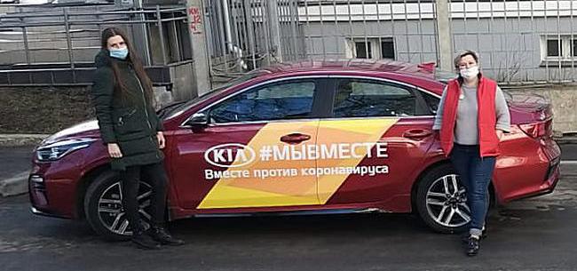 Ковровские волонтёры получили два авто
