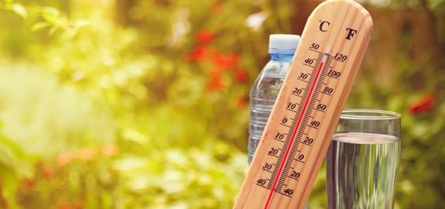 30-градусная жара