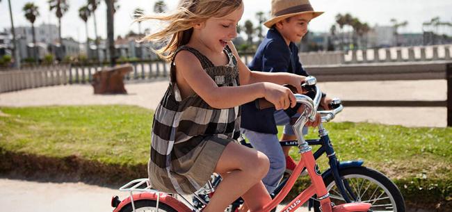 Дети и велосипеды: правила безопасности