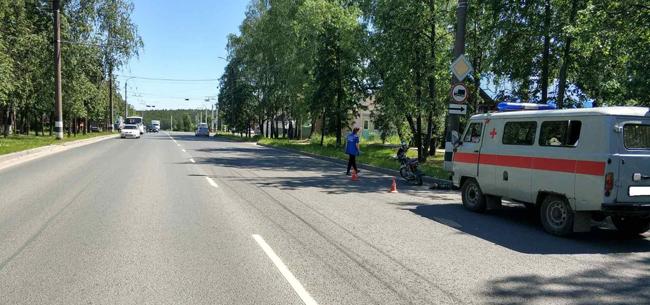 В Коврове погиб водитель мопеда