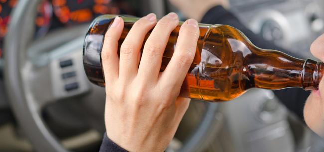 36 пьяных водителей за выходные