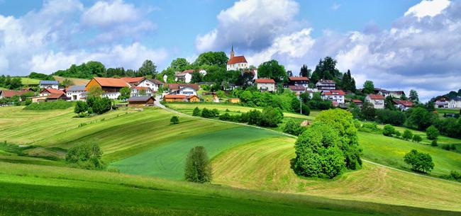 Какая деревня самая красивая?