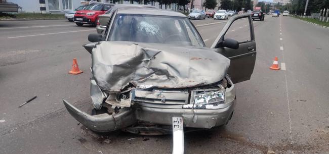 В Коврове в ДТП пострадал пассажир