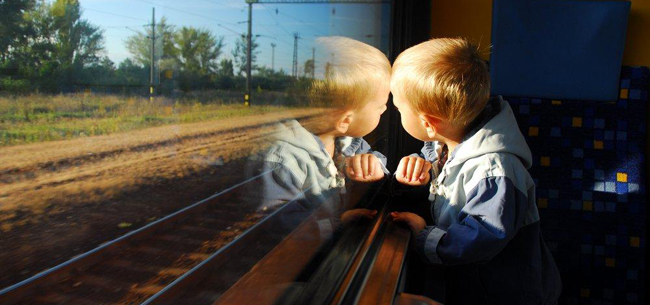 «Дети и транспорт» на железной дороге