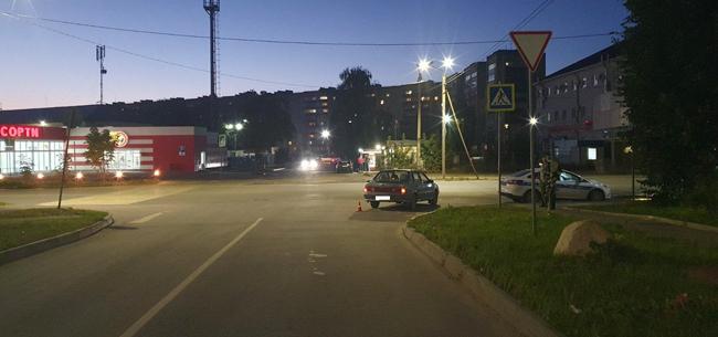 В Коврове пешеход попал под колеса авто на «зебре»