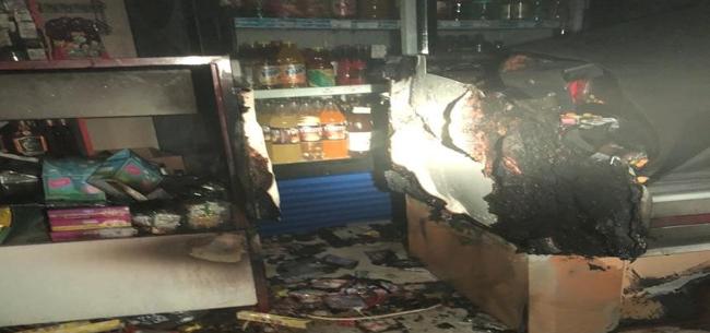 Пожар на ул. Щеглова