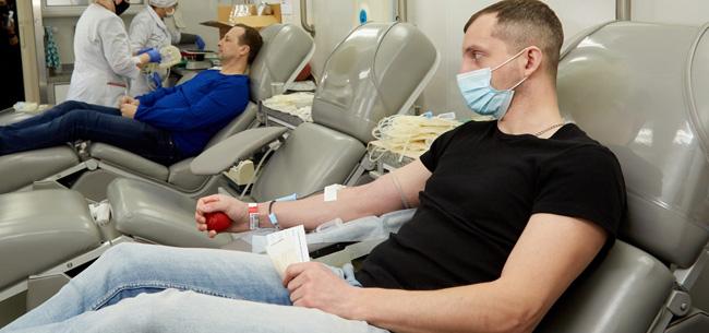 На АО «Ковровский электромеханический завод» прошел первый в этом году День донора