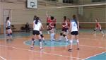Женский волейбол. Последняя игра ДЮСШ