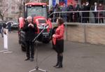 Трактор от КЭМЗ на выставке &quotСтройпрогресс 2017&quot