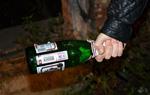 Забил бывшую жену бутылкой