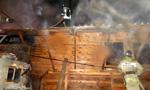 Пожар в Мелехово